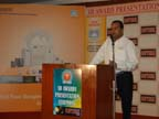 Mr. Manish Goyal, Byte Peripherals, Indore, carrying forward the Panel Discussion